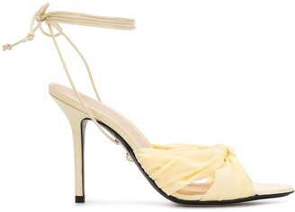 Alevì Ankle Tie Heeled Sandals