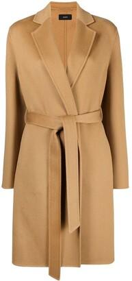 Joseph Tie-Waist Tailored Coat