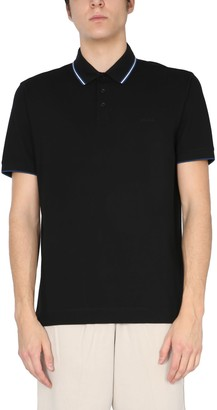 Ermenegildo Zegna Stretch Cotton Piquet Polo Shirt