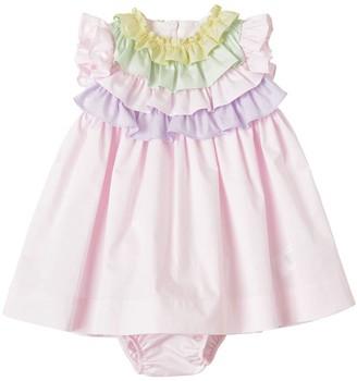 Il Gufo Stretch Poplin Dress & Diaper Cover