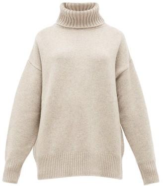 Extreme Cashmere - No. 20 Oversize Xtra Stretch-cashmere Sweater - Beige