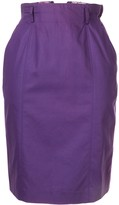 Christian Dior 1990s pre-owned Sports Midi Skirt
