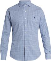 Polo Ralph Lauren Slim-fit checked cotton shirt
