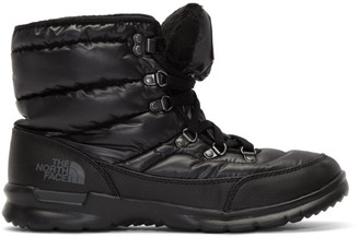 The North Face Black ThermoBall Lace II Boots