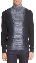 Vince Camuto Men's Gradient Fade Turtleneck Sweater