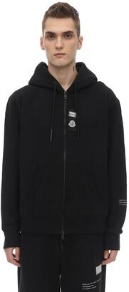 MONCLER GENIUS Fragment Zip-Up Cotton Sweatshirt Hoodie