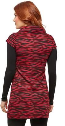 Joe Browns Red Zebra Tunic - Print