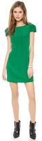 Tibi Cap Sleeve Dress