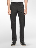 Calvin Klein Straight Fit Sateen Chino Pant
