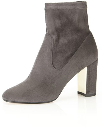 Marion Parke Kate Boot in Smoke Suede