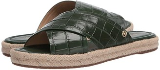 MICHAEL Michael Kors Linden Slide (Moss) Women's Shoes