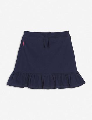 Ralph Lauren Ruffled cotton mini skirt 3-11 years