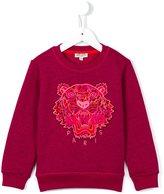 Kenzo 'Tiger' sweatshirt - kids - Cotton/Polyester - 2 yrs
