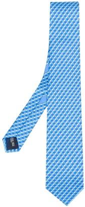Salvatore Ferragamo Fish Print Tie