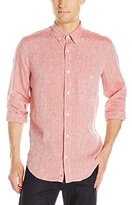 7 For All Mankind Men's Linen Oxford Shirt