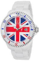 Toy Watch ToyWatch TUJ01WH Unisex White Plasteramic Union Jack Dial Plasteramic