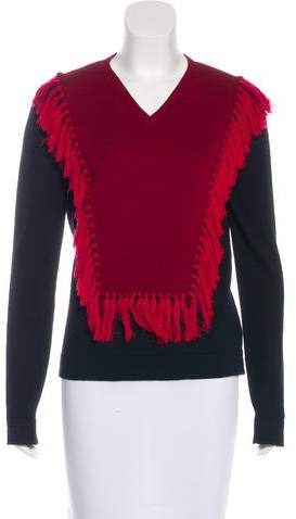 Altuzarra Wool Tassel-Accented Sweater