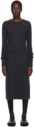 Acne Studios Grey Mohair Dress