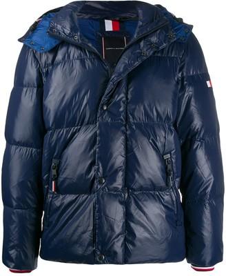 Tommy Hilfiger shine-effect down jacket