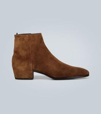 Saint Laurent Caleb zipped boots