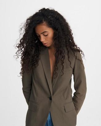 Rag & Bone Ames seersucker cotton blazer