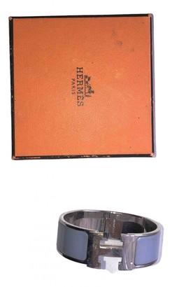 Hermes Clic H Silver Silver Bracelets