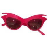 Christian Dior Red cat eye sunglasses