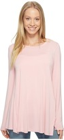 B Collection by Bobeau - Jade High-Low Hem Top Women's Long Sleeve Pullover