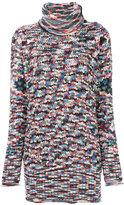 Missoni oversized turtleneck jumper