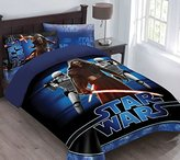Marvel Star Wars The Force Awakens Comforter Set with Fitted Sheet, Full