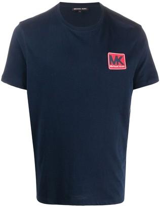 Michael Kors logo patch T-shirt