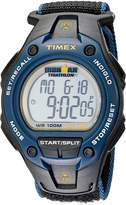 Timex Men's T5K413 Ironman Classic 30 Oversized Fast Wrap Velcro Strap Watch
