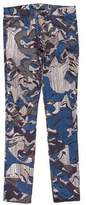 Kenzo Geometric Print Skinny Jeans