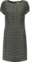 Tory Burch Harriet printed fil coupé silk dress