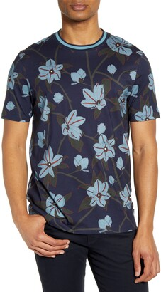 Ted Baker Merican Slim Fit Floral T-Shirt