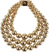 Michael Kors Jewelry 3 Strand Lg Bead Necklace