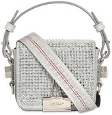 Off-White Off White BABY FLAP CRYSTAL SHOULDER BAG
