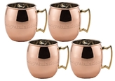 Old Dutch Congratulations Moscow Mule Mugs (Set of 4)