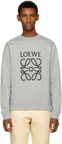 Loewe Grey Anagram Sweatshirt