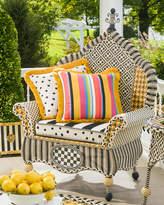 Mackenzie Childs Courtyard Outdoor Wing Chair