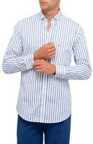 Paul & Shark L/S Bd Yahting Stripe W/Pocket Shirt