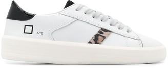 D.A.T.E Leopard Stripe Sneakers
