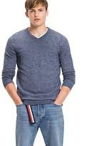 Tommy Hilfiger V-Neck Cotton Sweater