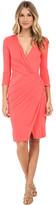 Versace Jersey Wrap Dress with Cutouts