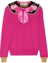 fuchsia cashmere sweater - ShopStyle
