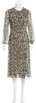 Burberry Silk Printed Dress