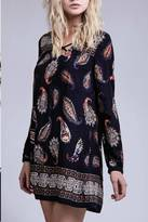 Blu Pepper Paisley Boho Dress