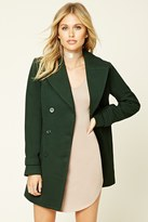 Forever 21 FOREVER 21+ Notched Collar Coat