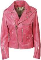 Golden Goose Deluxe Brand Zipped Biker Jacket