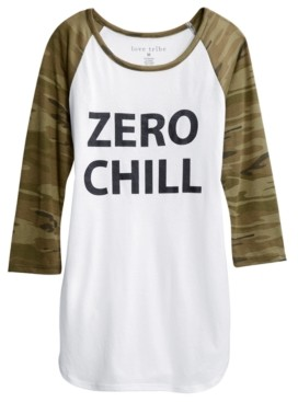 Love Tribe Juniors' Zero Chill T-Shirt